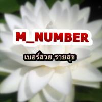 M NUMBER_เบอร์สวย_รวยสุข